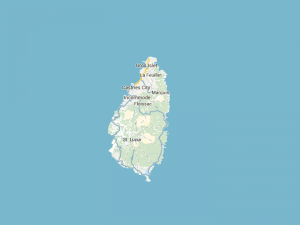 st.lucia-map