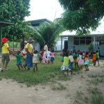 Visiting a School – Suriname 2010