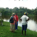Visiting the area  – Suriname 2010
